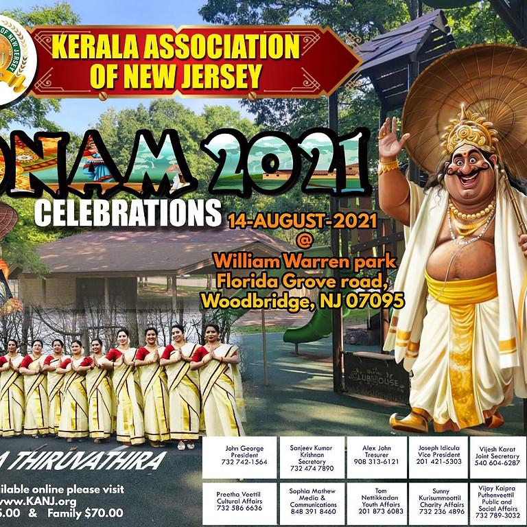 KANJ Onam Celebrations '21.