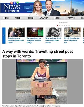Tania Panées en News Toronto