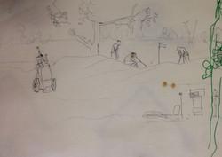 sketch at golf club 3