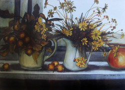 wild apples and daisies