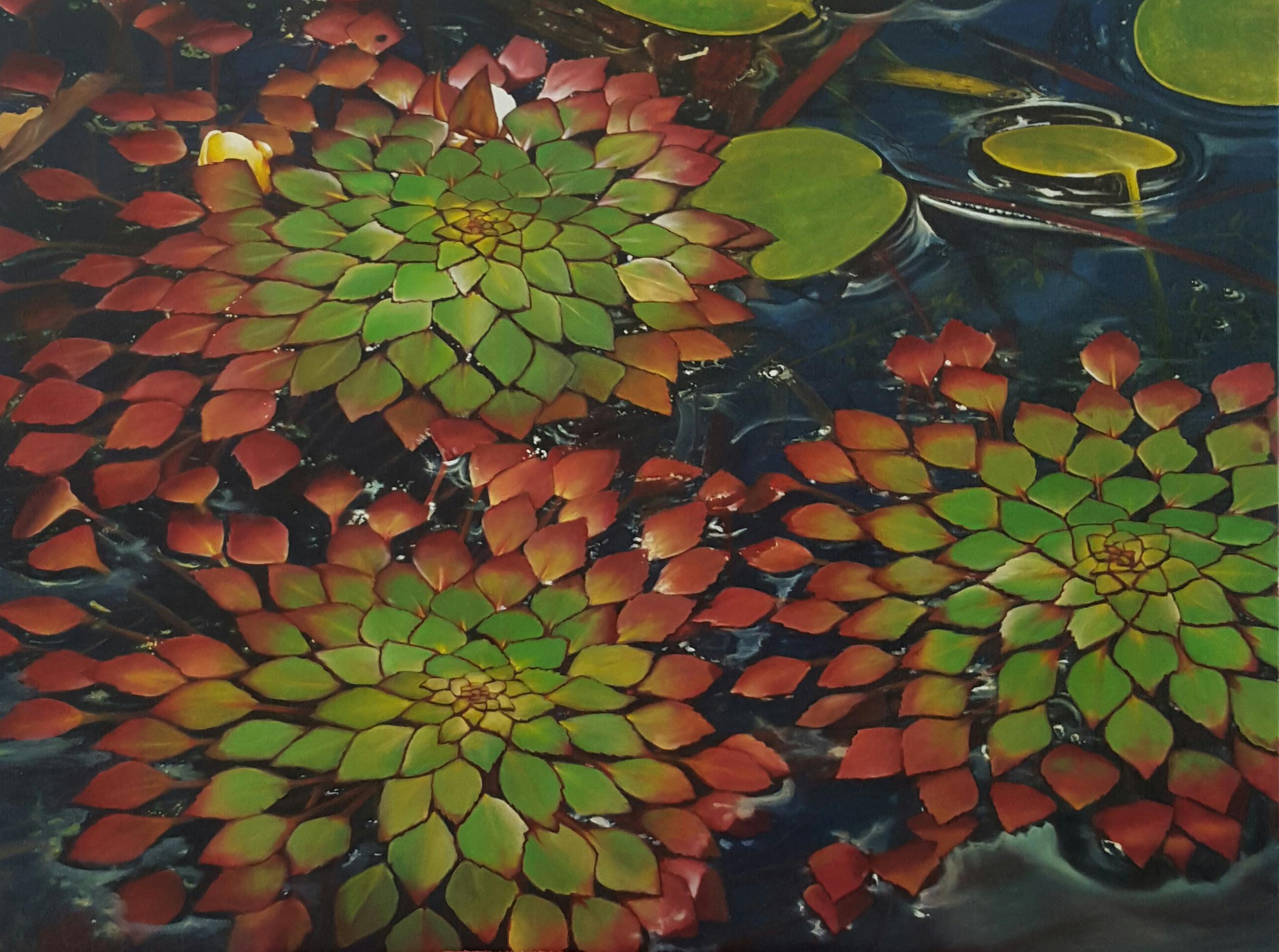 Fibonacci's mosaic
