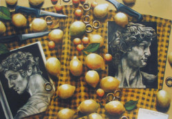 michelangelo and lemons
