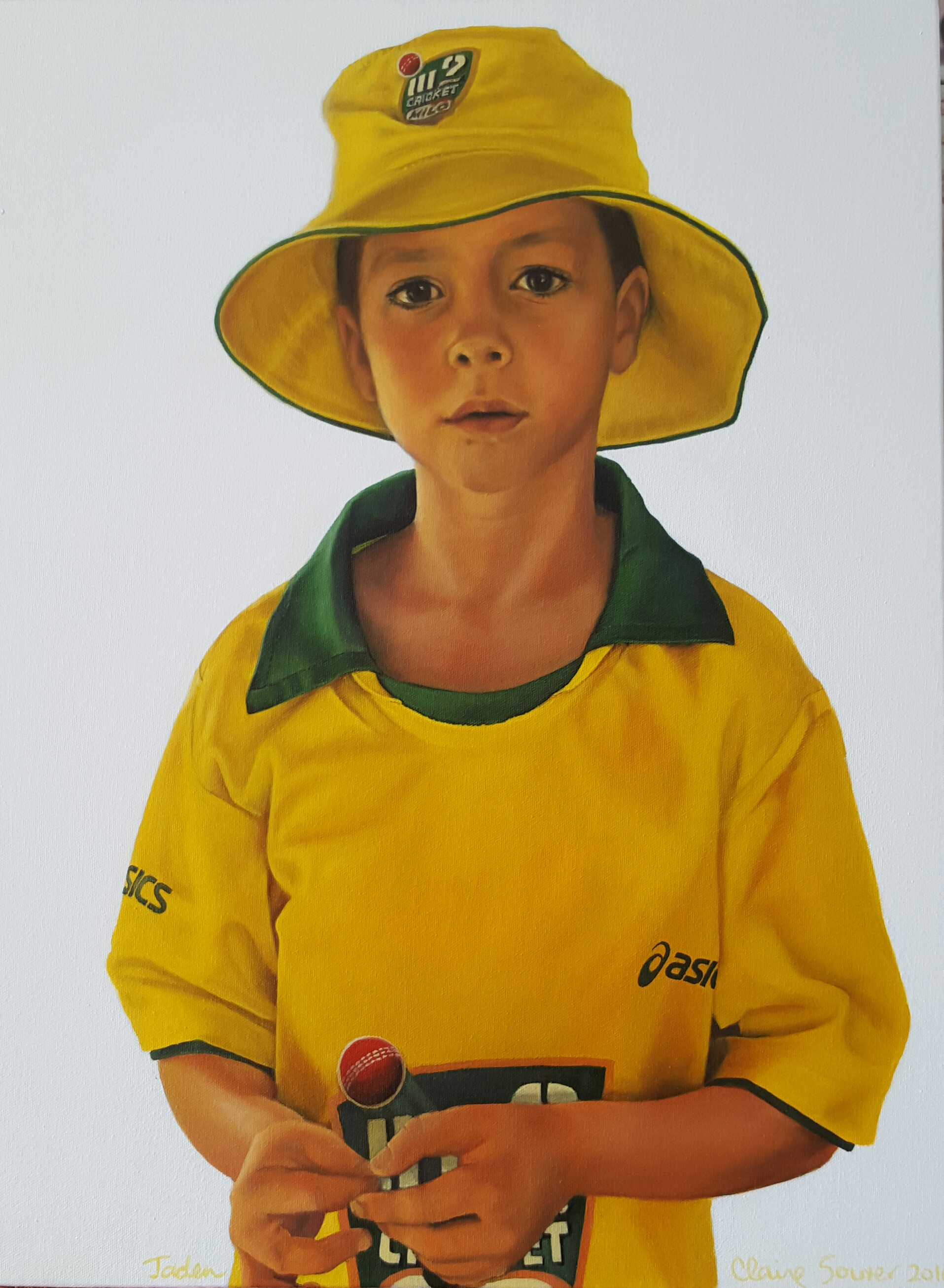 Jaden turns 8-our champion cricketer
