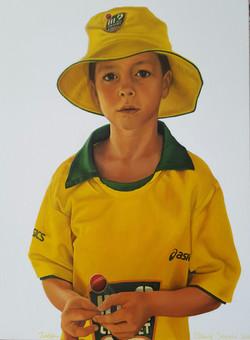 Jaden turns 8-our champion cricketer