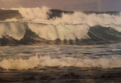 stormy waves off Port Fairy 3