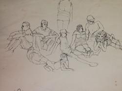beach sketch 1