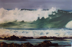 stormy waves off Port Fairy 1