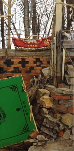 Majong table in Qingdao