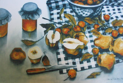 quinces, wild apples and honey 2