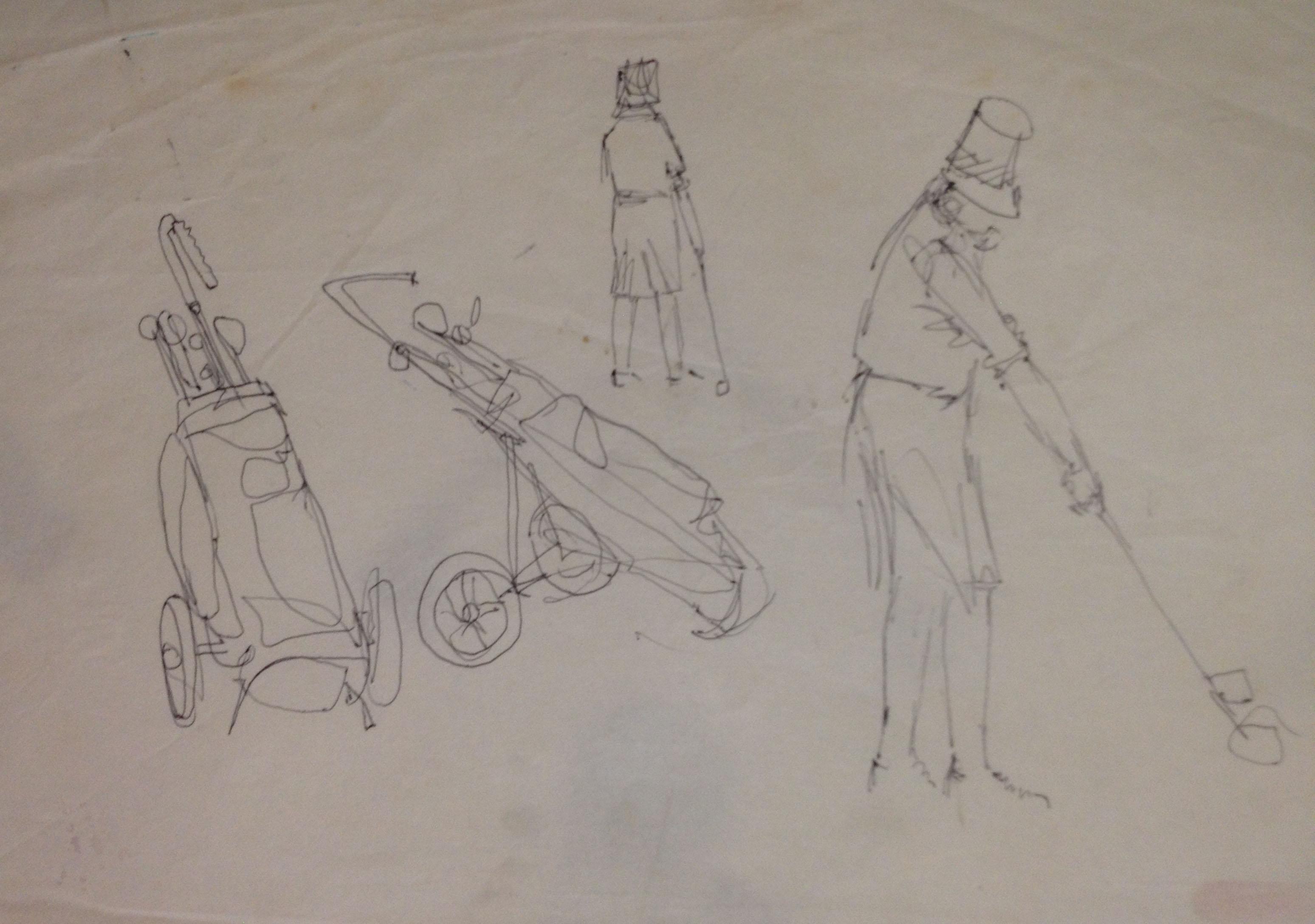 sketch at golf club 1