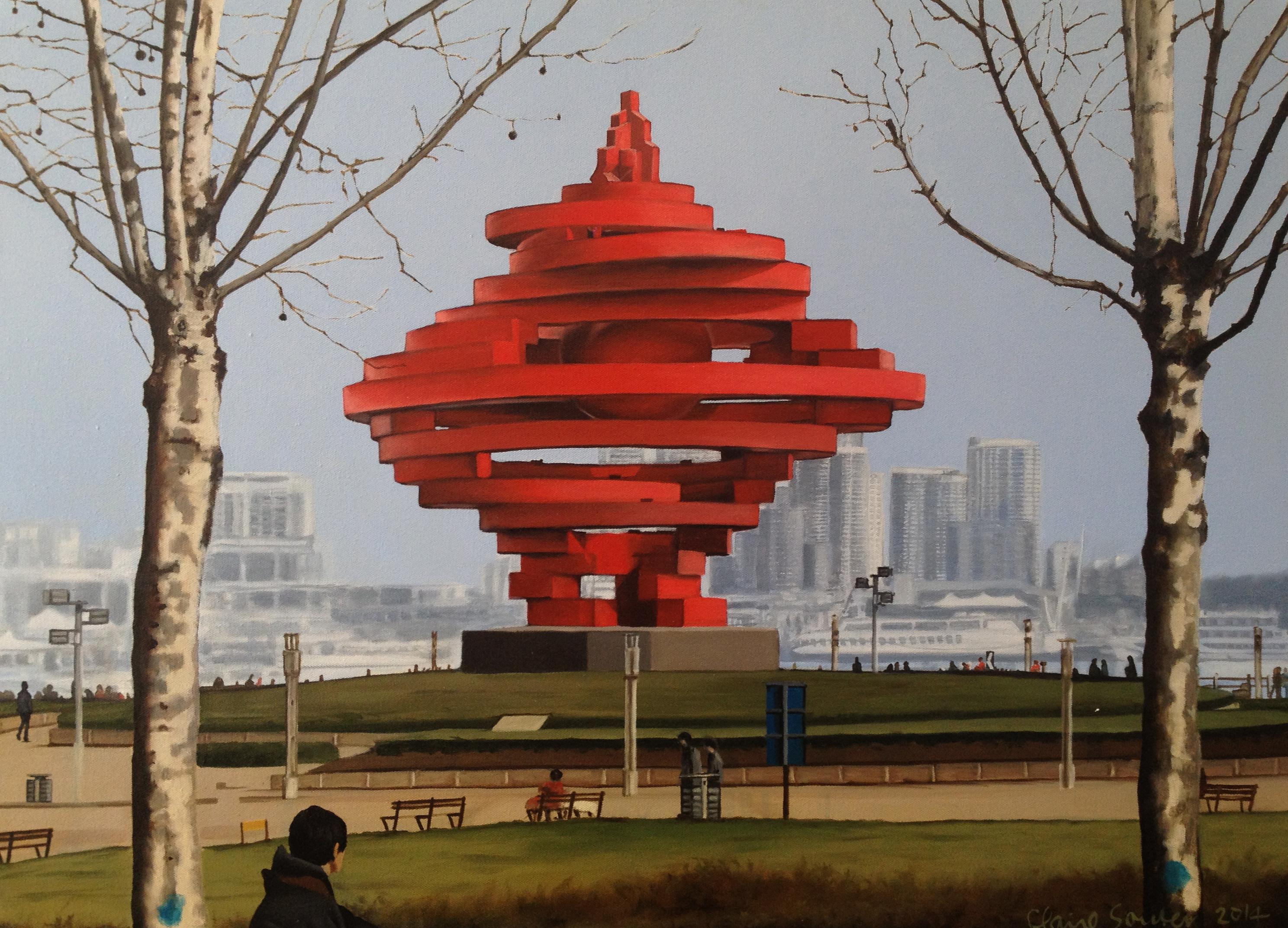 Qingdao monument