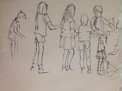 art class sketch