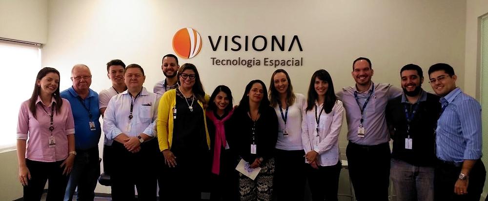 Palestra na Visiona Tecnologia Espacial