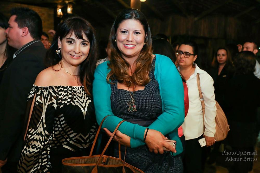 Com Janaína Dias, presidente do Conselho da Mulher Empreendedora, e uma das responsáveis pelo Movimento RenovACI.