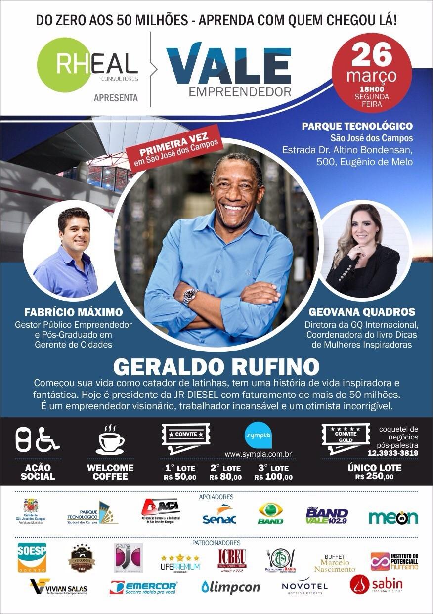 Gratidão Sempre: Participantes do grupo Roda da Kika Jobs vão na palestra do Geraldo Rufino