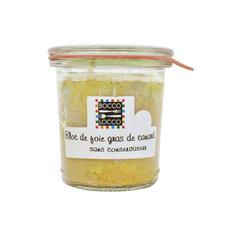 Bloc de foie gras de canard sans conservateur
