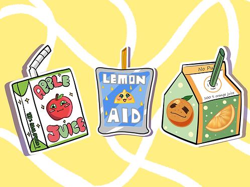 Juice Box Heros Sticker Bundle