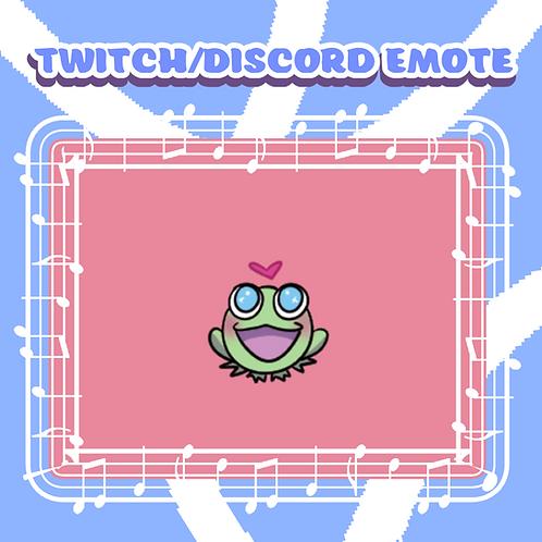 Twitch/Discord Happy Froggie Emote