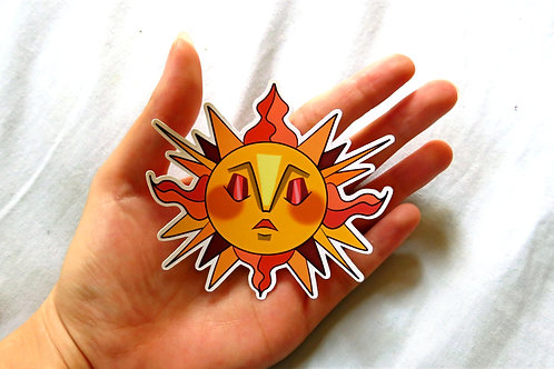 Elegant Sun Sticker!
