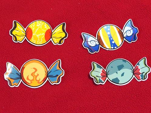 Poke Candy Stickers!