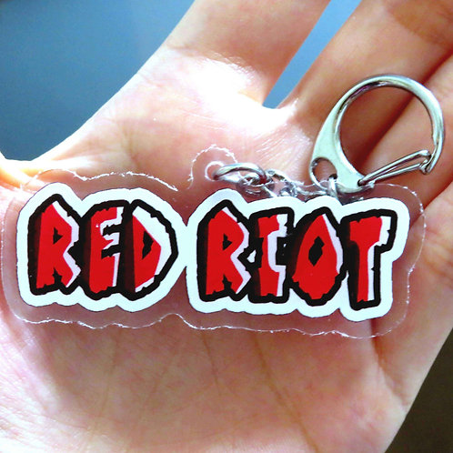 MHA inspired RED RIOT Charm
