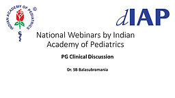PG Clinical Discussion