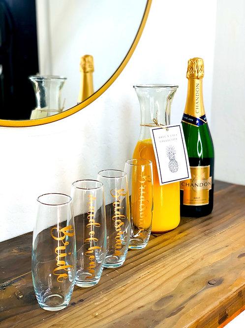Champagne Flutes (single)