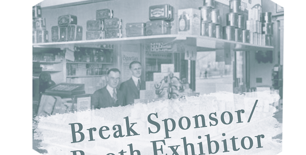 Break Support/Booth Exhibitor
