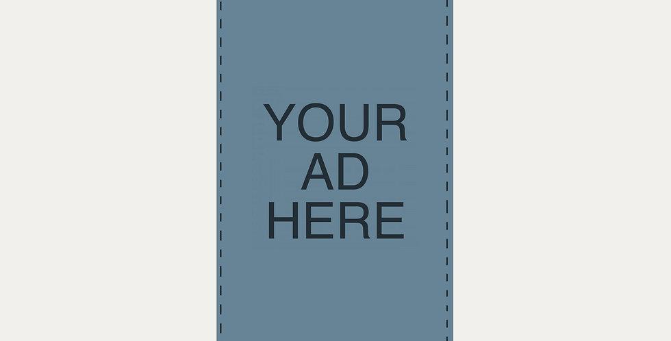 Half Page Ad - Catalog