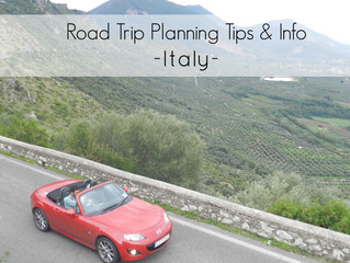 Road Tips and Info for going on a Road Trip in Italy