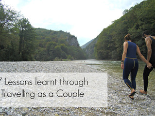 7 lessons learnt through travelling as a couple