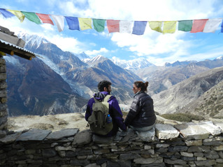 Trekking in Nepal- The Annapurna Ciruit Trek in a few days