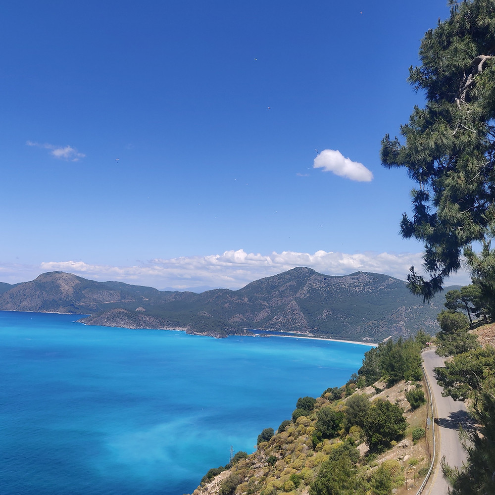 Romy and Luke Desira on a road trip in Turkey