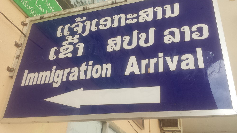 Visa on arrival laos immigration arrival