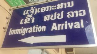 Border crossing Bangkok to Pakse (Laos)- Chong Mek Border