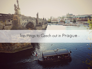 Top Things to Czech Out in Prague