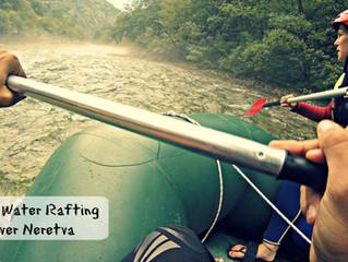 White Water Rafting through the beautiful River Neretva