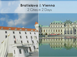 Exploring Bratislava and Vienna in 2 days, on a budget
