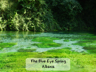 The wonders of the Blue Eye spring in Albania