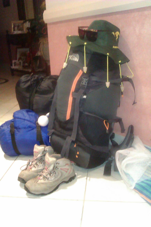 backpack storage space