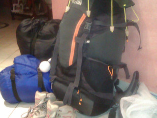 Saving Luggage Space when Backpacking