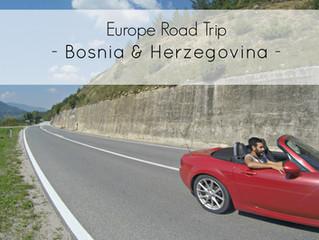 7 day Road Trip Itinerary in Bosnia & Herzegovina