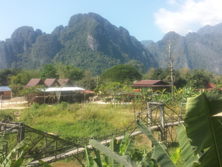 Vang Vieng by motorbike | Laos