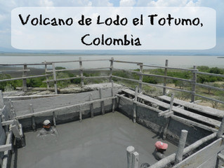 Get dirty in Colombia's Volcan de Lodo el Totumo