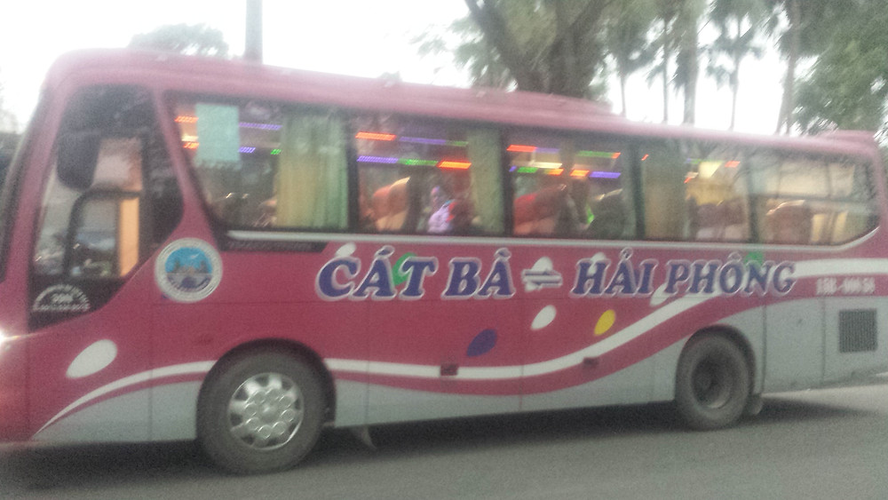 Cat Ba Bus