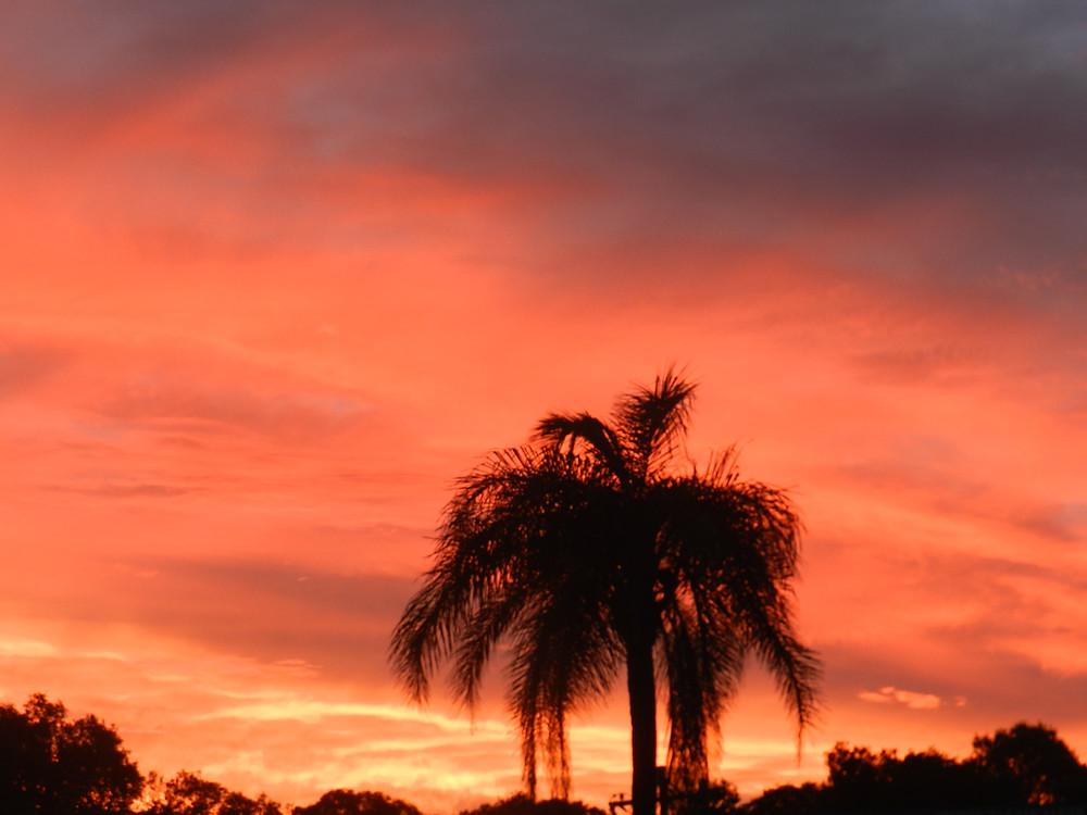 Sunset in Byron Bay