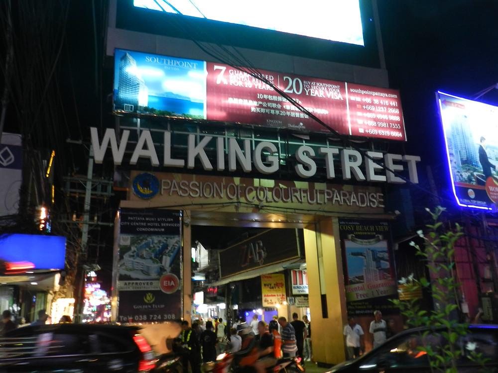 things to do in Pattaya walking street