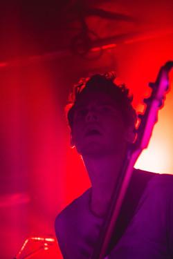 Henrik, the bass player