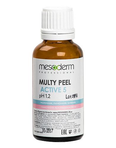 Мульти Пил Актив 5 (АНА кислоты, 40%) 30 мл