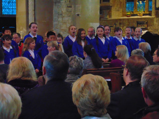 TSB Spring Concert featuring Towcester C of E Primary School singers!